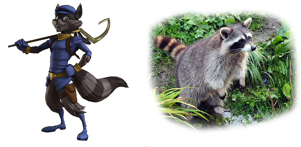 Sly and Bandicoot